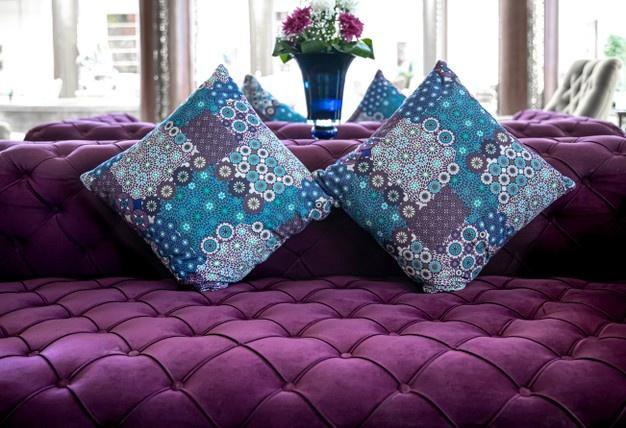 Sillón-violeta